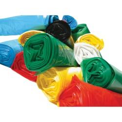 Sac plastique couleur 30 L