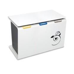 Luna Sorting bin 45 L + lid