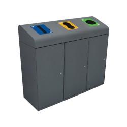 Berlin waste collector lid...