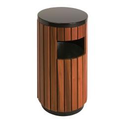 Corbeille ronde bois 33 L