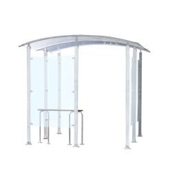 Metal smoking shelter 4 m²...