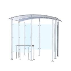 Metal smoking shelter 6 m²...