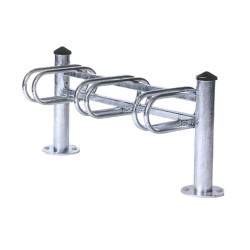 City 3-space cycle rack