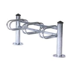 Agora 3-space cycle rack