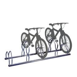 Ratelier vélos sur 2 niveaux