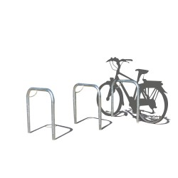 Bicycle stand easy to secure
