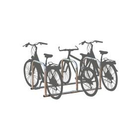 Rack 6 Fahrräder in einer...
