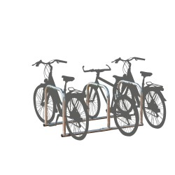 Rack for 6 bikes in a row -...