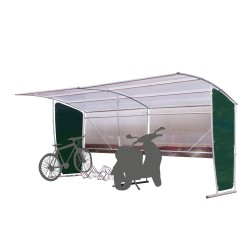 Bus or cycle shelters: Bus...