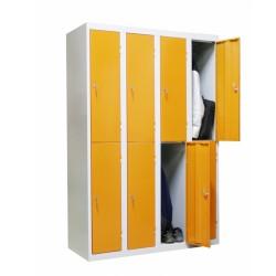 One-piece locker...