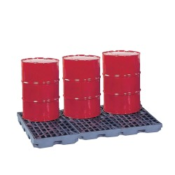 PE spill platform 6 drums