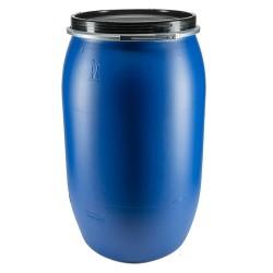 Full-opening plastic drum 120L