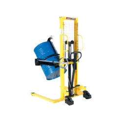 Drum stacker with tipping...