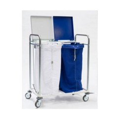 Trolley carrying 2 bags