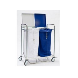 Trolley carrying 2 bags...