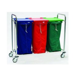 Trolley carrying 3 bags