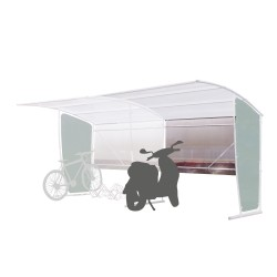 Bus or cycle shelters:...