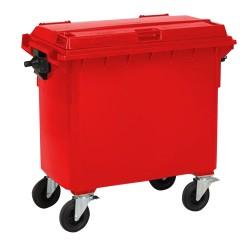 Plastic container 660 L -...