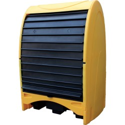 Storage shelter for 4 drums