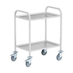 Mobile serving trolley with...