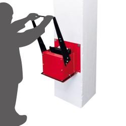 Wall-mounted manual...