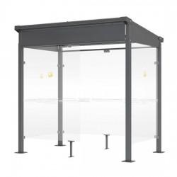MILAN smoking shelter