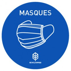 MASK STICKERS (? 100 mm) (x5)