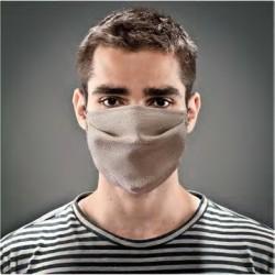 Masque à plis en tissu...