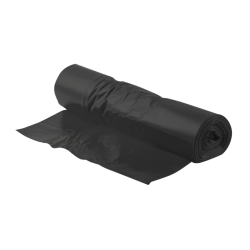 Black plastic bag 30 L