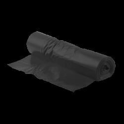 Schwarzer Kunststoffbeutel...