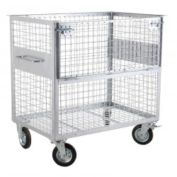 Wire mesh container 800 L