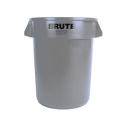 Round waste collector 209 L