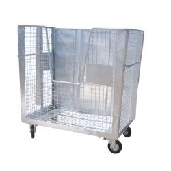 Gitterbehälter auf Rädern...