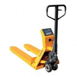 Weighing manual pallet truck